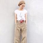 【agnès b】特集☆おしゃれなTシャツ・ワンピース・バッグで作るフレンチカジュアル