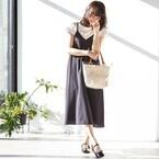 夏スタイルの仕上げにおすすめ!クリア素材のサンダルとバッグで気分もクリア♡