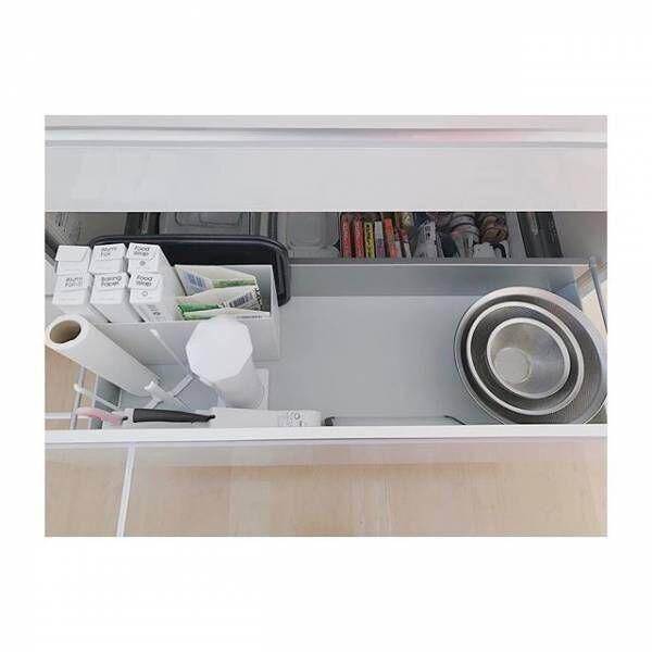 「ラップケース」のある生活風景&収納方法をご紹介!キッチンインテリアに馴染んで統一感がアップ☆