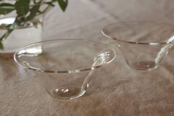 暮らしを清涼感のある「ガラス」で彩る♪5人のガラス作家が作る器や小物をご紹介