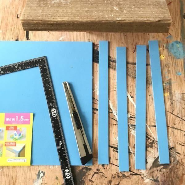 【連載】100円ショップの材料でオシャレなお店風の看板プレートの作り方♬