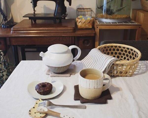 お洒落な『おうちカフェ』の風景を拝見☆ホッとするひとときを素敵に演出するテーブルセッティング術