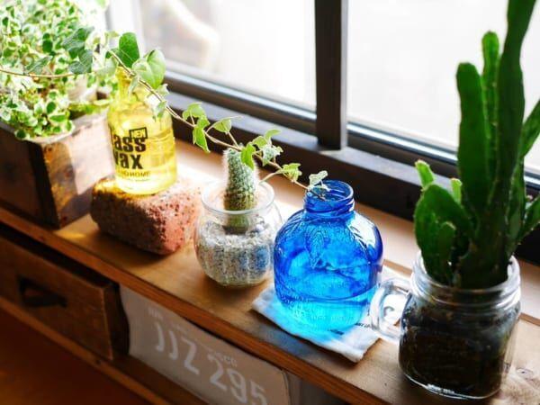 透明感を楽しむ!ターナー社のガラスペイントでガラスを好きなカラーに染めてみよう☆