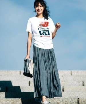 人気スポーツ系ブランドのロゴTでランクアップ♪マニッシュな大人女子を目指そう!