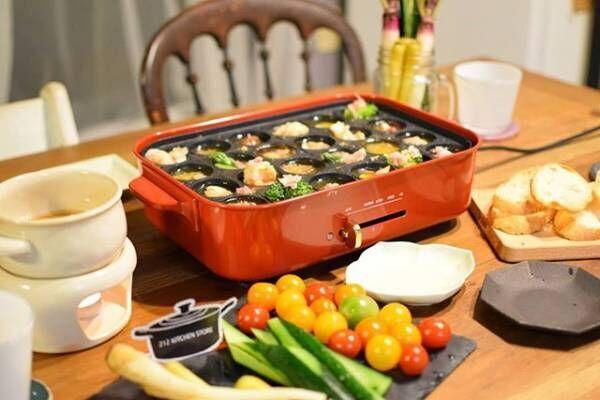 BRUNO(ブルーノ)のホットプレート特集☆おしゃれなキッチンと食卓の風景