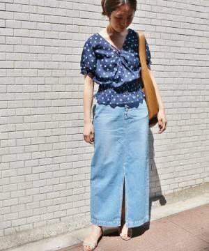夏は「ブルー」で清涼感を手に入れて…♡人気のブルー系アイテムコーデをチェック!