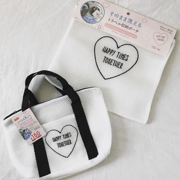 【ダイソー】で見つけた♡おしゃれポーチ・ケース・バッグで注目度ナンバーワン!