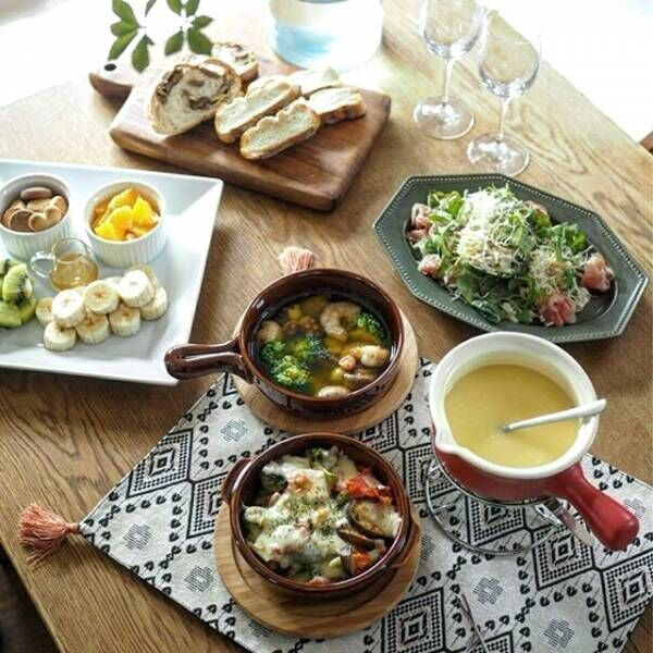 【ニトリ】の食器を食卓に!美味しそうに見える食器の選び方と盛り付け方♪
