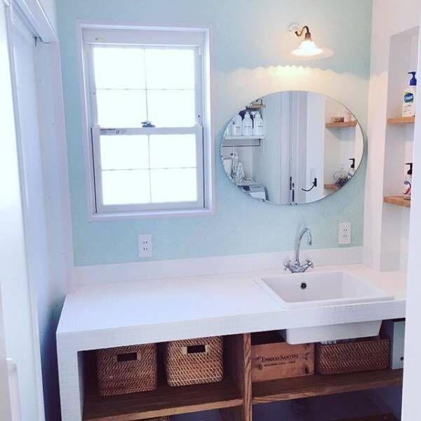 清潔感がポイントの『洗面所収納術』☆スッキリと整理整頓している実例をご紹介