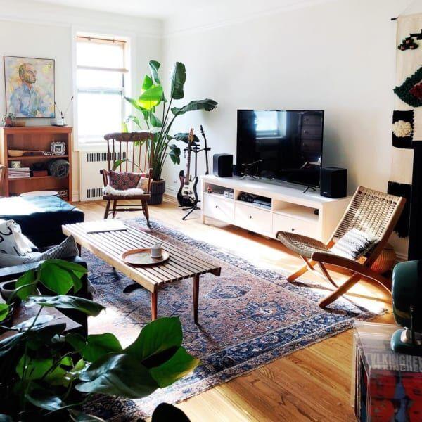 グリーンミックスインテリアで癒しの空間づくりを楽しもう♡海外の素敵なお宅をご紹介します!