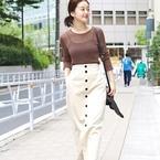 ロング丈のタイトスカートで旬コーデを叶えて♡秋まで使えるアイテムをご紹介します!