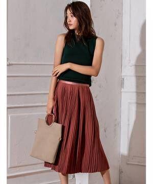 プリーツスカートの夏スタイル15選♡オシャレなシルエットで立体感&スタイルアップ