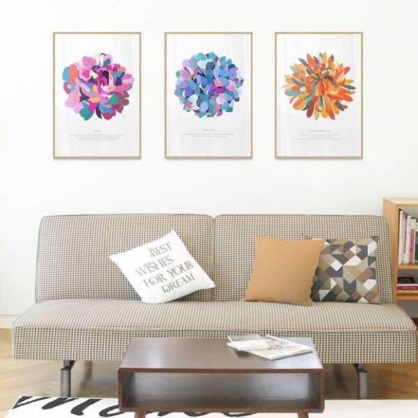 貼るだけで華やかな空間に!ポスターのおしゃれな飾り方をまとめました