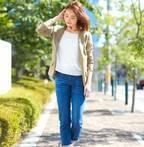 初秋に羽織る♪プチプラジャケットを使って季節感先取りの大人女性コーデを作ろう!