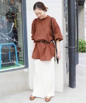 「ボリューム袖トップス」で作る!大人女性のための秋ムード満点コーデ15選