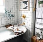 憧れの「猫足バスタブ」♡映画やドラマのような素敵な海外バスルームをご紹介します♪