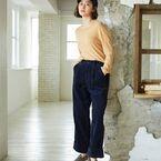 秋トレンド「コーデュロイパンツ」を着こなす!おすすめの大人女性コーデ