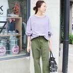 大人女性が着こなす「スウェット」特集☆オフスタイルをトレンドアップ!