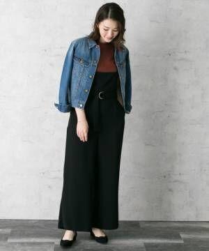 気軽に羽織れるのが魅力♪デニムジャケットで作る秋の大人カジュアルスタイル♪