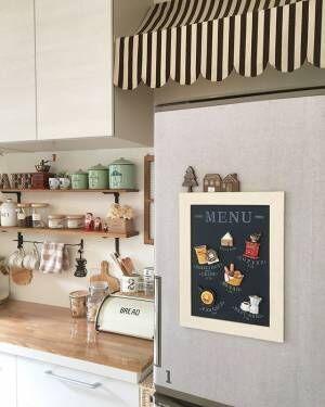 『黒板インテリア』で簡単にセンスアップ☆お洒落なカフェ風を演出した実例集