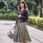 大人女性のマストアイテム!「ノーカラージャケット」をショート丈にアップデート☆