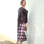 秋のマストハブ♪「チェック柄パンツ」でつくる大人女性の簡単トレンドコーデ