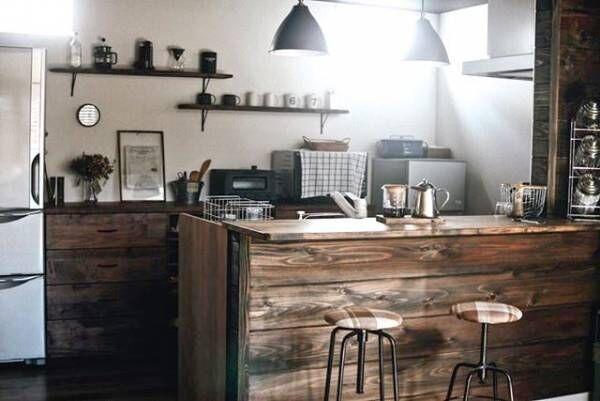 スタイルも十人十色!いろんなカフェ風キッチンをご紹介します☆