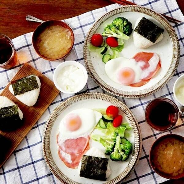 朝ごはんからお弁当まで!みんなの目玉焼き盛り付けをのぞき見♡