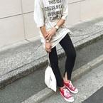 暑さがおさまったらお出かけ日和♪たくさん歩く日は《コンバーススニーカー》で!