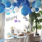 子どものお誕生日を華やかに♪お洒落なバースデーフォトスポットの作り方