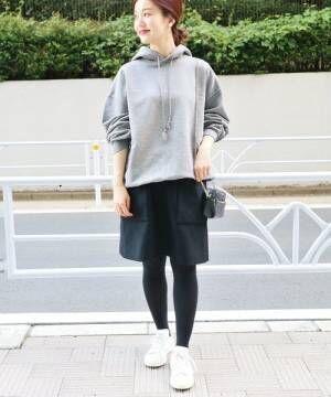 大人女性のおしゃれな〈パーカー〉着こなし術♡この秋もパーカーは人気です!