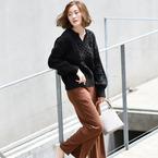 秋の定番カラーNo.1は〈ブラウン〉!ブラウンアイテムの着こなしまとめ★