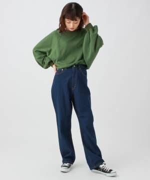 どちらを選ぶ?【デニムVSトレンドチェック】秋の大人女子パンツコーデ☆