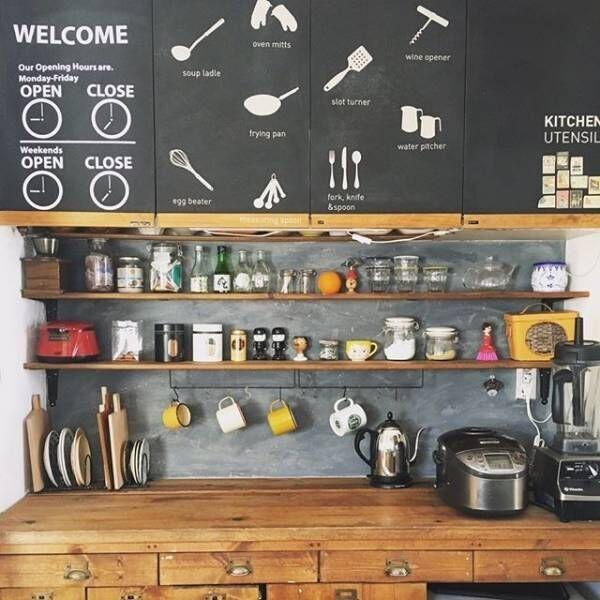 100均でも買える♪黒板シート&塗料でカフェ風インテリアに改造しよう!
