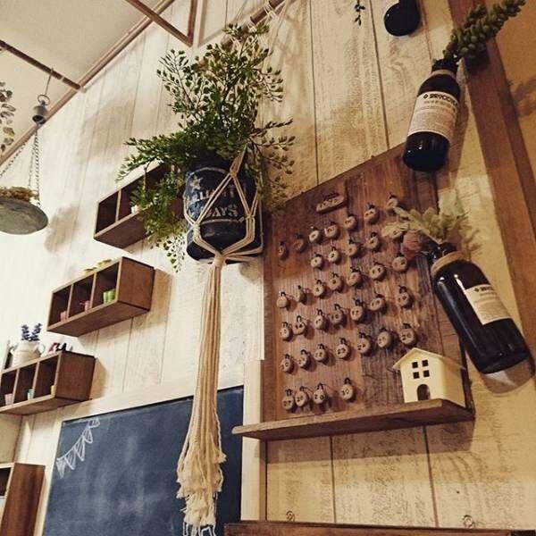【カフェ】も【男前】も簡単に実現☆黒板を使ってインテリア上級者に!