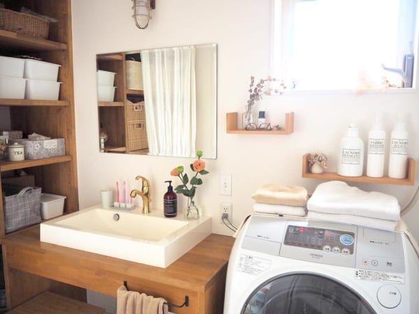 実用性だけでなくインテリア性も重視したい!オシャレな洗面所インテリアをご紹介