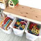 【セリア・IKEA・ニトリ・無印】で攻略☆困りがちなおもちゃの収納術!