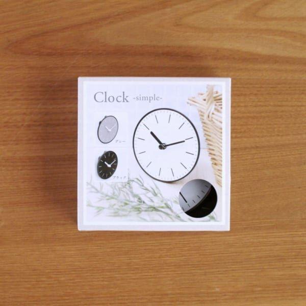 【連載】100均セリアの可愛い雑貨!モノトーンでシンプルな時計