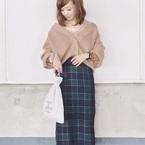 【GU】のチェック柄スカートはこの秋マスト!プチプラでトレンドを楽しもう