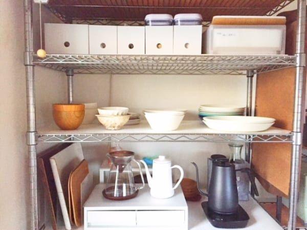 【連載】IKEAと100均グッズのコラボ♪使いやすいキッチンのオープン収納を実現!