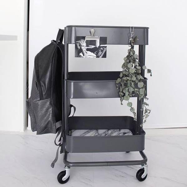収納に便利☆【IKEA】のスチール製ワゴン「RASKOG・ロースコグ」特集!