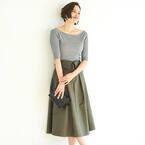 主役級の存在感!「デザインスカート」で作る秋冬の大人女性スタイル
