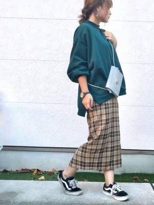 【GU・ユニクロ】秋イチ欲しいスカート特集!大人女性の高見え秋コーデ20選♪