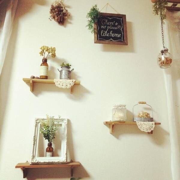 おしゃれな《壁面ディスプレイ》に挑戦!素敵なアイデア&飾りつけ大公開☆