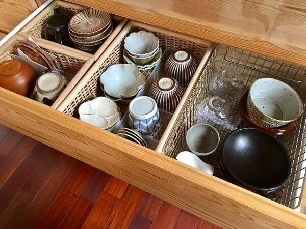 毎日使う食器は取り出しやすく♪時短に繋がる食器収納のアイデア
