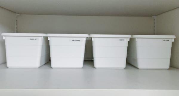 【連載】狭いスペースを有効活用!洗濯機まわりのモノトーン収納