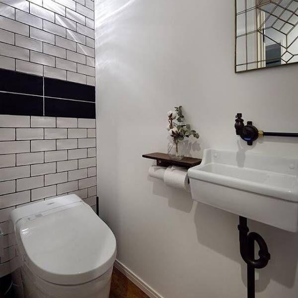 クールでスタイリッシュなトイレ