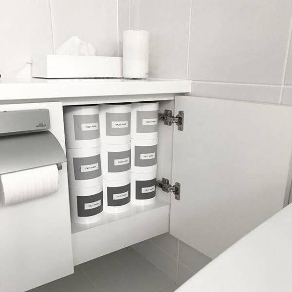 生活感を減らす!トイレットペーパーカバーでトイレの雰囲気を変えよう♪