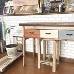 テーブルをDIY!?世界に一つだけのデザインテーブルを作ってみよう♪
