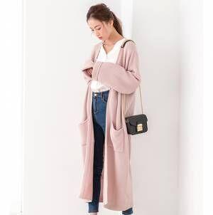 「くすみピンク」or「濃色ピンク」!今年の秋に着たいのはどっち?
